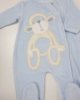Super Soft Cheeky Chimp Baby Gown