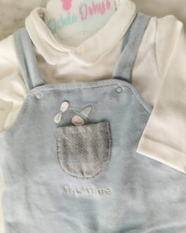 Fly With Me Dungaree Set