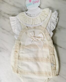 Molly Frilly Romper Set