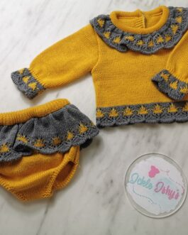 Ruth Knitted Set
