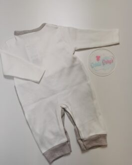 Callumn Dickie bow Dungaree Gown