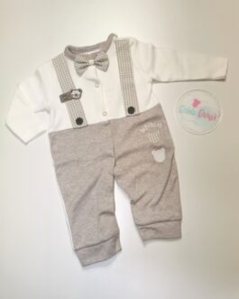 Callumn Dickiebow Dungaree Gown