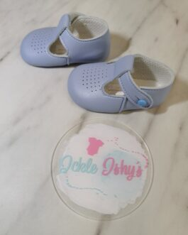 Blue Soft Sole Baby Pods