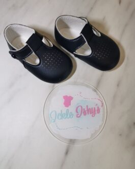 Navy Soft Sole Baby Pods